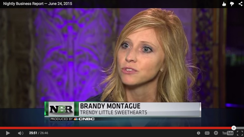 Brandy Heyde Montague CNBC Nightly Business Report Interview