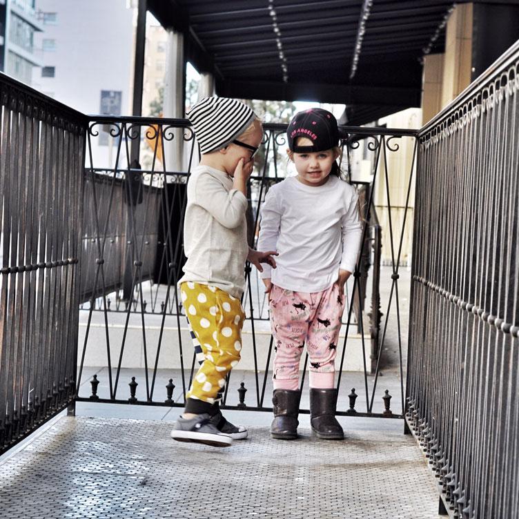 Hipster Kids in Downtown LA | Trendy Little Sweethearts