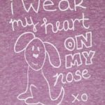 Heart on My Nose Dog Rescue Tee | Trendy Little Sweethearts