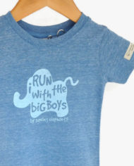 Run with the Big Boys Elephant Rescue Tee | Trendy Little Sweethearts