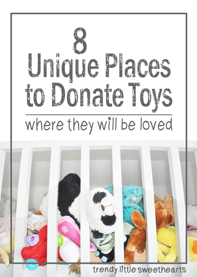 Unique ideas for donating toys when the kids get older | Trendy Little Sweethearts