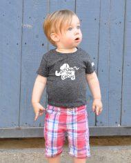 Hand-printed Elephant Tshirt for Kids
