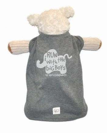 Super cute and soft elephant shirt made from recycled bottles and reclaimed cotton! Trendy Little Sweethearts