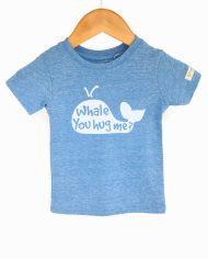 Whale You Hug Me Cartoon Silhouette Tshirt
