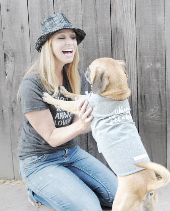 Eco-friendly Mommy and Me matching dog shirts