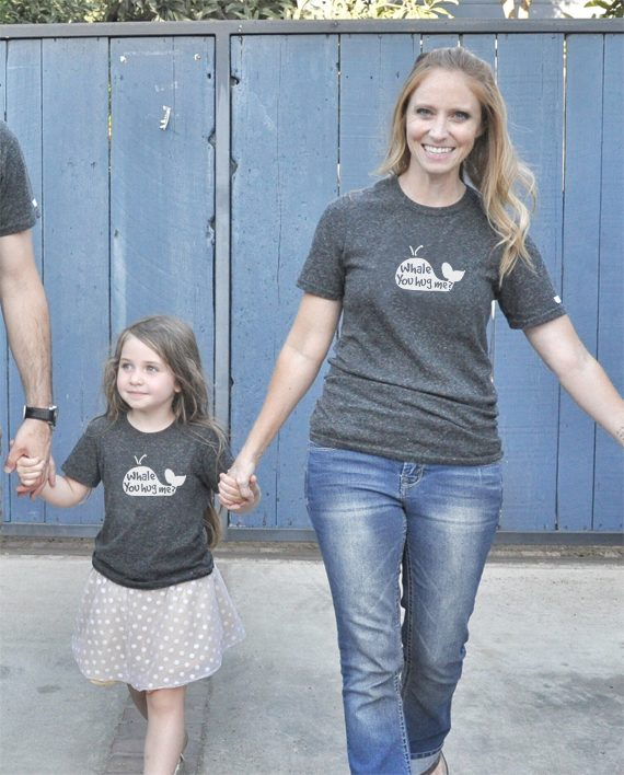 Eco-friendly Save the Whales Tshirt | Trendy Little Sweethearts