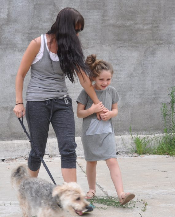 Eco-friendly Cropped Sweatpants with Unicorn | Dog Rescue | Trendy Little Sweethearts