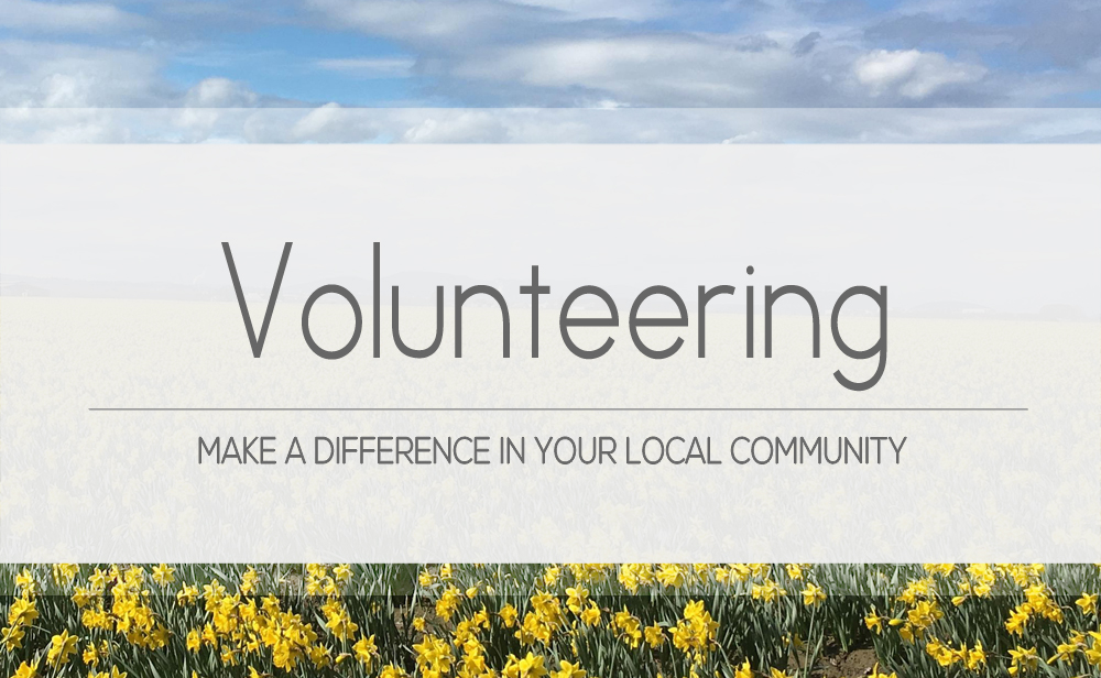 Volunteer to make a difference