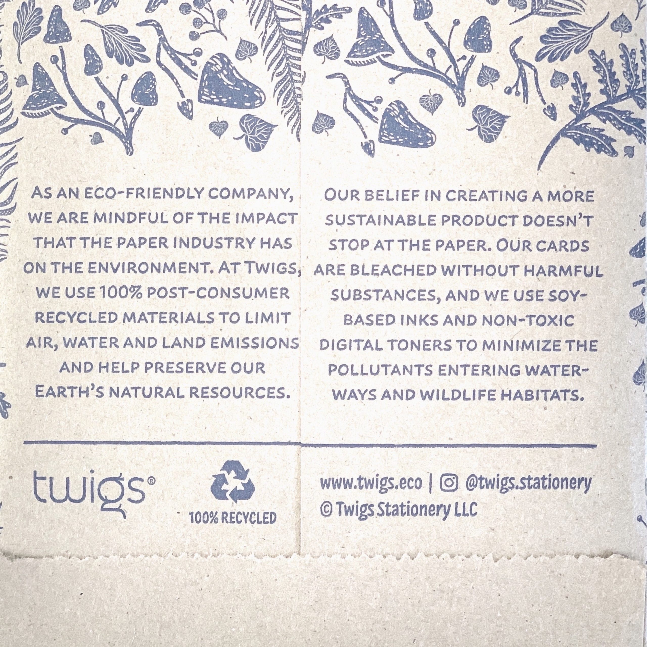 Review of recycled greeting card with 100% post consumer waste and eco friendly inks | For Animals For Earth