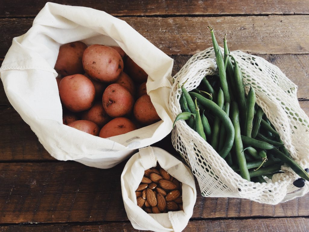 Garden fresh foods for healthy eating with health coach Brooke Freeman