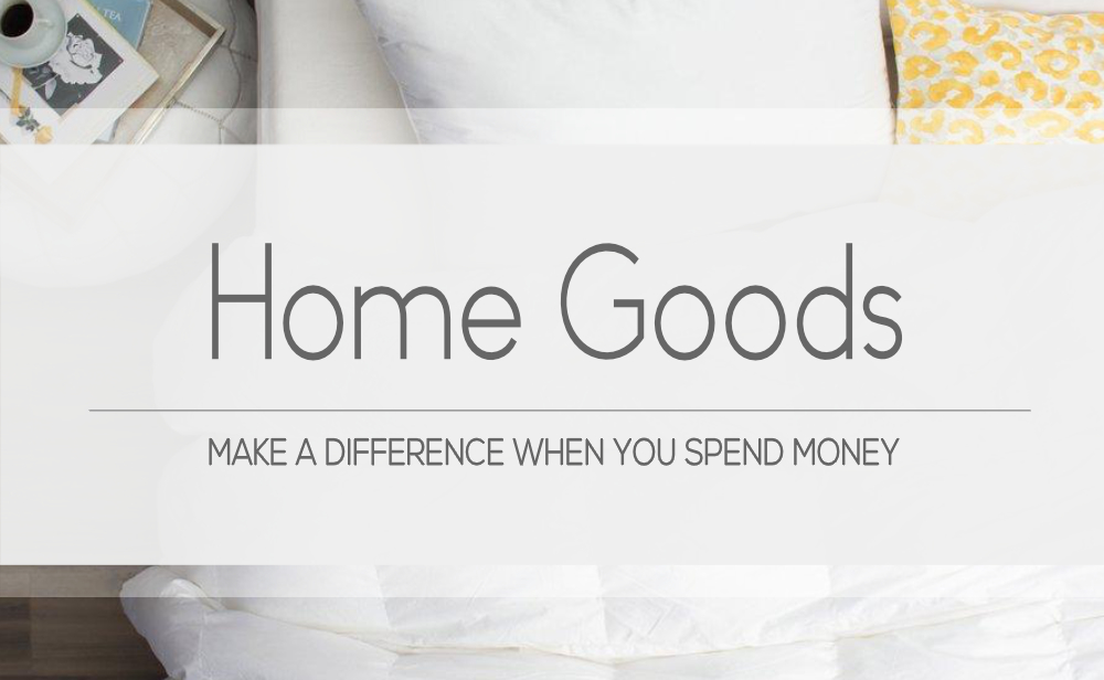 Brands that make conscious home goods | For Animals For Earth