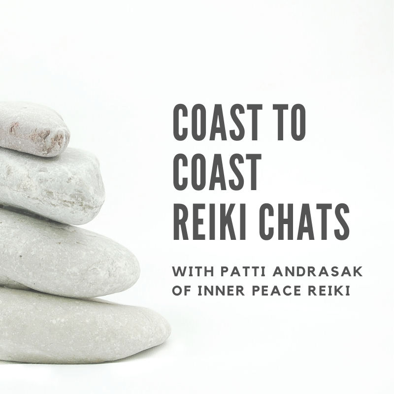 In the Coast to Coast Reiki Chats, we explore topics related to reiki and meditation practice. Hosted by Brandy Heyde Montague from For Animals For Earth in California, and Patti Andrasak from Inner Peace Reiki in New York.