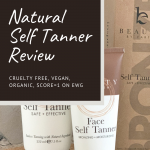 Beauty by Earth natural self tanner is a perfect nontoxic option for tanning lotion | For Animals For Earth