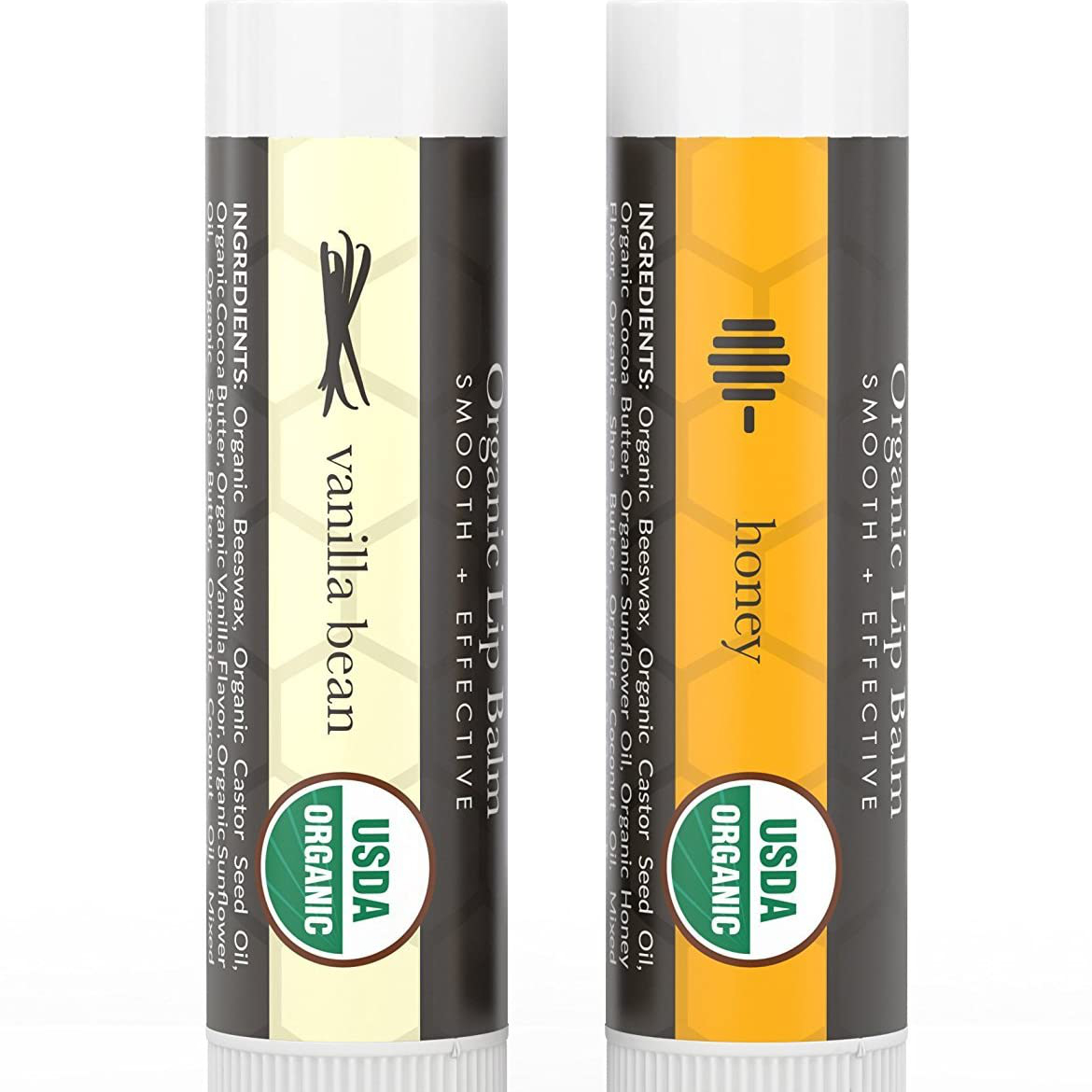 I love this Beauty by Earth lip balm! It's calm and soothing because my lips are often sore and red. This always helps. | For Animals For Earth