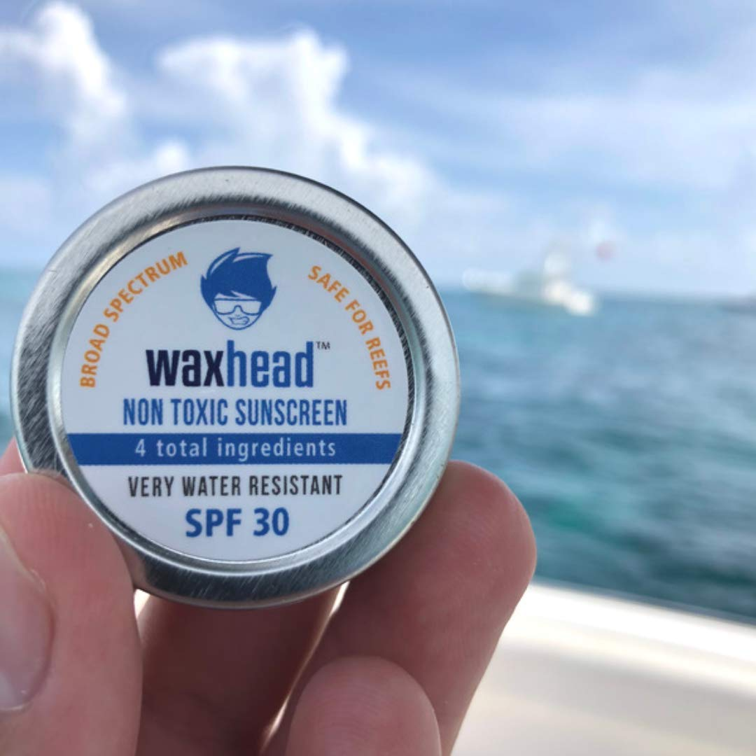 I use Waxhead to help me prevent cold sores. I throw this little tin in my purse so that I can put some on my lip with my finger if I'm stuck out in the sun. | For Animals For Earth
