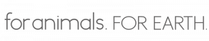 For Animals For Earth logo