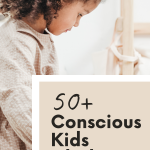 List of 50+ ethical kids clothing brands. These brands all sell clothes up to at least size 9-10. And focus on the environment, ethical sourcing, transparency, and quality. | For Animals For Earth Blog