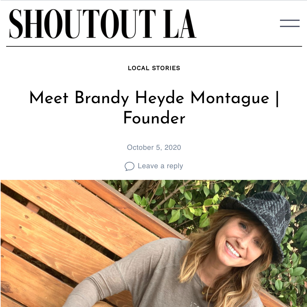 Meet Brandy Heyde Montague, Founder of For Animals For Earth on Shoutout LA