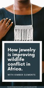This jewelry line is preserving the traditional craft of the Maasai people while providing a real, sustainable solution to wildlife conflict in Africa. Join me for my conversation with convener and curator, Kimber Leblicq.