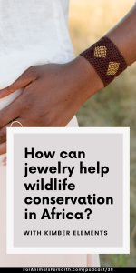 This jewelry line is preserving the traditional craft of the Maasai people while providing a real, sustainable solution to wildlife conservation in Africa. Join me for my conversation with convener and curator, Kimber Leblicq.